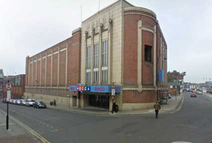 Ipswich Historic Lettering: Odeon 1