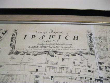 Ipswich Historic Lettering: Ogilby map 11