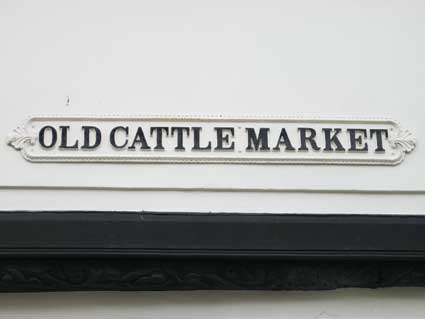 Ipswich Historic Lettering: Old Cattle Market 2