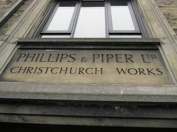 Ipswich Historic Lettering: Phillips & Piper 3