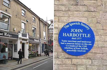 Ipswich Historic Lettering: John Harbottle plaque