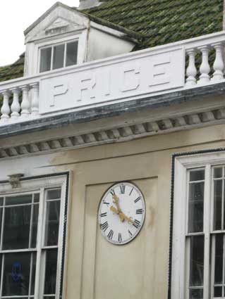 Ipswich Historic Lettering: Price refurb. 2014
