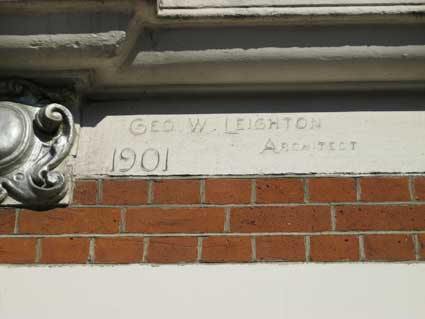 Ipswich Historic Lettering: Princes St, Leighton 1