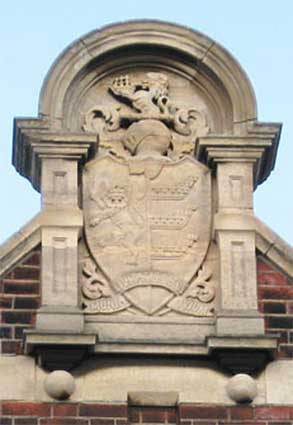 Ipswich Historic Lettering: Ranelagh Rd School crest