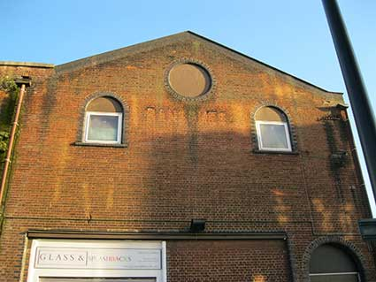 Ipswich Historic Lettering: Ransomes 5