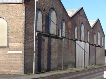 Ipswich Historic Lettering: Ransomes warehouse 2