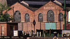 Ipswich Historic Lettering: Ransomes warehouse 4a