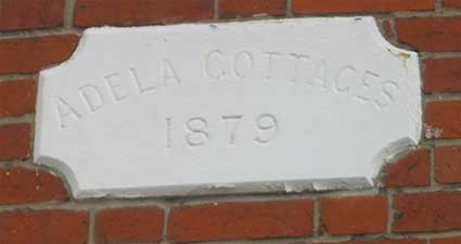 Ipswich Historic lettering: Rose Hill Adela