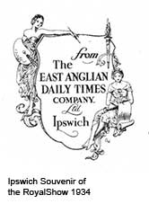 Ipswich Historic Lettering: EADT advert