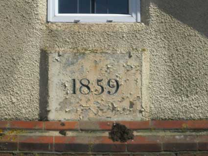 Ipswich Historic Lettering: Rushmere Baptist 2