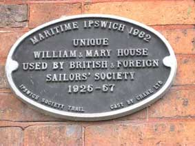 Ipswich Historic Lettering: Sailors Rest 4 small