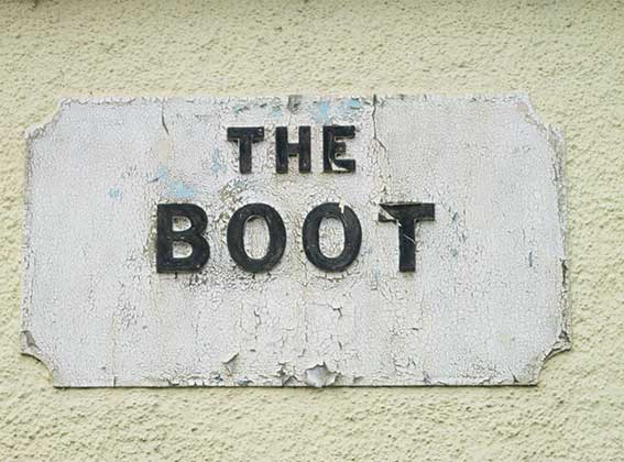 Ipswich Historic Lettering: Shotley Boot 5