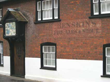 Ipswich Historic Lettering: St Albans 6