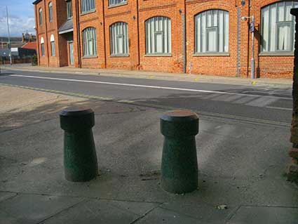 Ipswich Historic Lettering: St Clement bollards 2