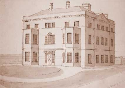 Ipswich Historic Lettering: Stoke Hall drawing