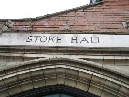 Ipswich Historic Lettering: People's Hall x1