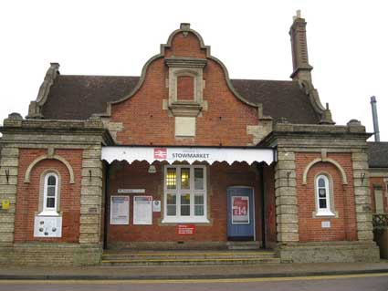 Ipswich Historic Lettering: Stowmarket station 7