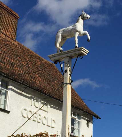 Ipswich Historic Lettering: Tattingstone White Horse 3