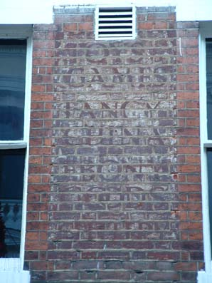 Ipswich Historic Lettering: Wootton's 4