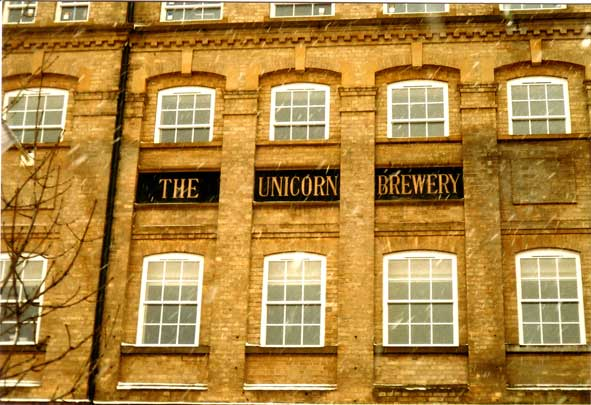 Ipswich Historic Lettering: Unicorn Brewery 2a