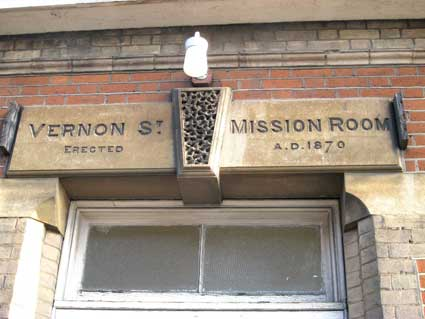 Ipswich Historic Lettering: Vernon St Methodist 3