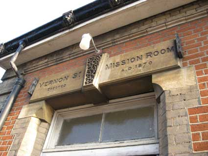 Ipswich Historic Lettering: Vernon St Methodist 4