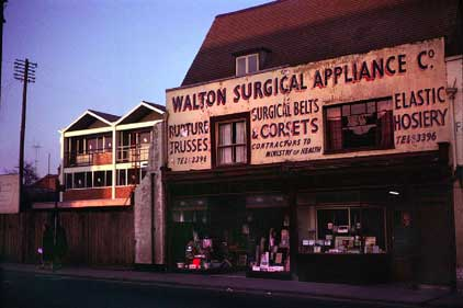 Ipswich Historic Lettering: Walton Surgical