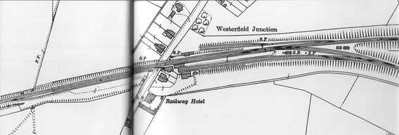 Ipswich Historic Lettering: Westerfield Jct.map