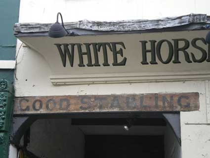 Ipswich Historic Lettering: Whitby White Horse and Griffin2
