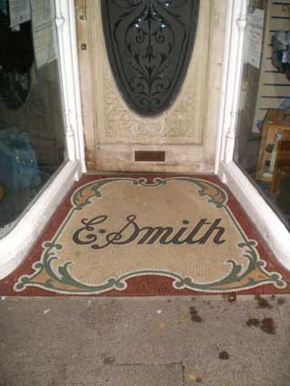 Ipswich Historic Lettering: Woodbridge E. Smith 2