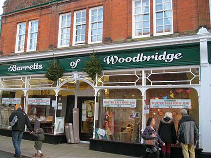 Ipswich Historic Lettering: Woodbridge Barretts 1