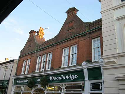 Ipswich Historic Lettering: Woodbridge Barretts 5