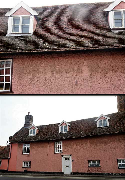 Ipswich Historic Lettering: Woodbridge Boat Inn