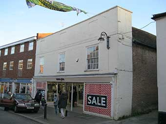 Ipswich Historic Lettering: Woodbridge Scarfe 5
