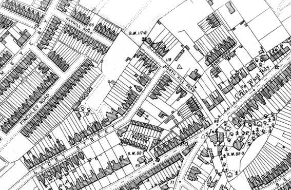 Ipswich Historic Lettering: Morpeth map 1902